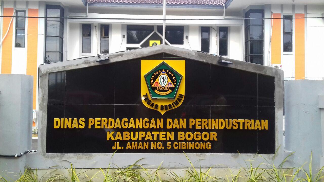 Dinas Perdagangan dan Perindustrian Kabupaten Bogor