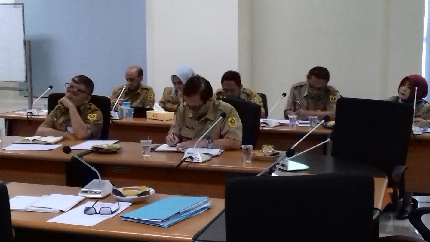 Koordinasi Kepala Dinas dengan Pejabat Struktural