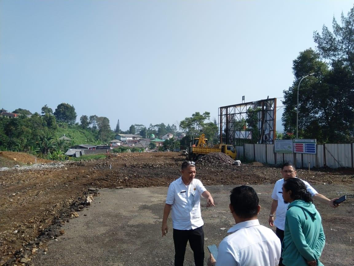 Monitoring Pelaksananaan Pembangunan Rest Area Gunung Mas Puncak. Bogor